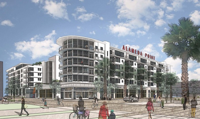 Trammell Crow Residential, Crow Holdings, Alameda Point, City of Alameda , Alameda Point Partners, Thompson Dorfman Partners, Seaplane Lagoon Ferry Terminal, Eden Housing, Santa Clara Unified School District, San Mateo Community College District,