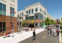 Menlo Park, Facebook, Willow Road, Hamilton Avenue, Menlo Science and Technology Park, San Francisco Foundation, Facebook's Catalyst Housing Fund, Mid-Peninsula High School, Pacific Biosciences, Dumbarton Corridor