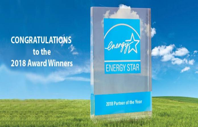 U.S. Environmental Protection Agency, U.S. Department of Energy, Fortune 500, 2018 ENERGY STAR Partner, Hewlett Packard, Fulton Homes, MACH Energy, Washington Hilton Hotel, CBRE Group, AZ Energy Efficient Home, Fulton Homes