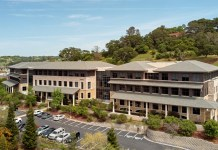 Ellis Partners, San Francisco, Woodside Office Center, Novato, JLL's Capital Markets Team, New York State Common Retirement Fund, Basin Street Properties, Downtown Novato, Novato-San Marin SMART, Whole Foods, Peete's Coffee, Chipotle Mexican Grill, Rustic Bakery