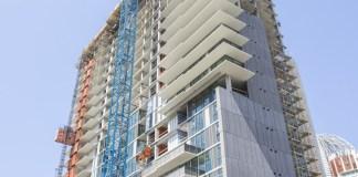Level 10 Construction, The Richman Group of California Development Company, K1, The Sliver, San Diego Central Library, East Village, Petco Park, DesignARC LA, Sunnyvale, San Francisco, San Diego,