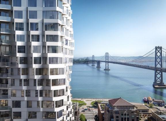 MIRA, Tishman Speyer, Embarcadero, Studio Gang, San Francisco Bay, Bay Bridge, Salesforce Park, Transbay Transit Terminal