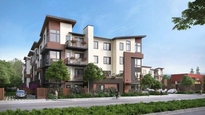 Regis Homes Bay Area, The Ashton, Belmont, Polaris Pacific, Caltrain, City Center, Tricon Capital, Dahlin Group, Bay Area