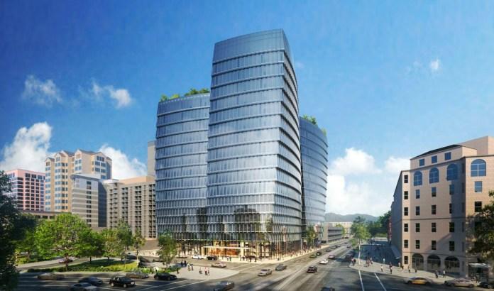 Cupertino, The Sobrato Organization, San José, Market Street Towers, Arquitectonica, Davidson Plaza Towers, Trinity Place, San Francisco,