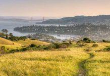 Metropolitan Transportation Commission, Marin County, Golden Gate, Larkspur Ferry Terminal, Sonoma, Corte Madera Creek, Greenway, Cal Park Hill Tunnel, Bay Area, San Francisco