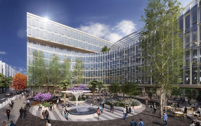 Federal Realty Investment Trust, San Jose, Santana Row, Hatton Public Parking Garage, Splunk, Tesla