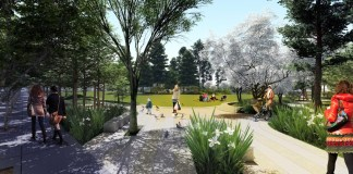 Esprit Park, San Francisco, Central Waterfront and Dogpatch Public Realm Plan, UCSF, Tamara Aparton, San Francisco Recreation and Park Department, Dogpatch and Northwest Potrero Hill Green Benefit District
