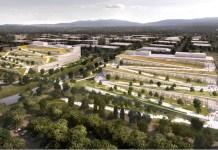 Google, NetApp, Sunnyvale, Yahoo, Moffett Park, Kilroy Realty, Chesapeake Commons, Moffett Park Business Group