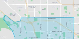 Cupertino, Via, Lyft, Uber, Mountainview