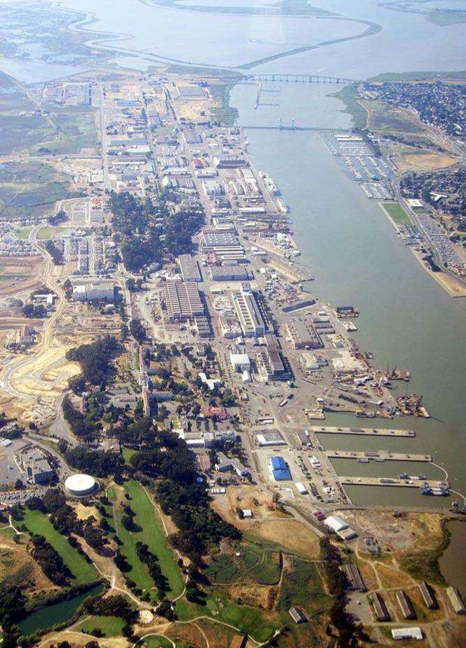Nimitz Group, Mare Island, Southern Land Company, Vallejo, Solano, Bay Area, HOK