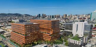 Brannan Square Tishman Speyer Mitsui Fudosan America San Francisco Central SoMA Michael Maltzan Architecture Caltrain Muni