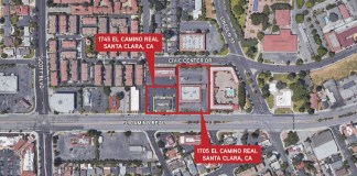 Santa Clara, Colliers International, El Camino Real, Denny's, Kerley Family