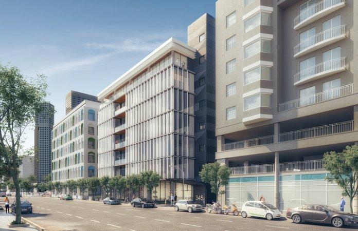 T 2, San Francisco, CBRE, WeWork, Stanton Architecture 345 4th Street