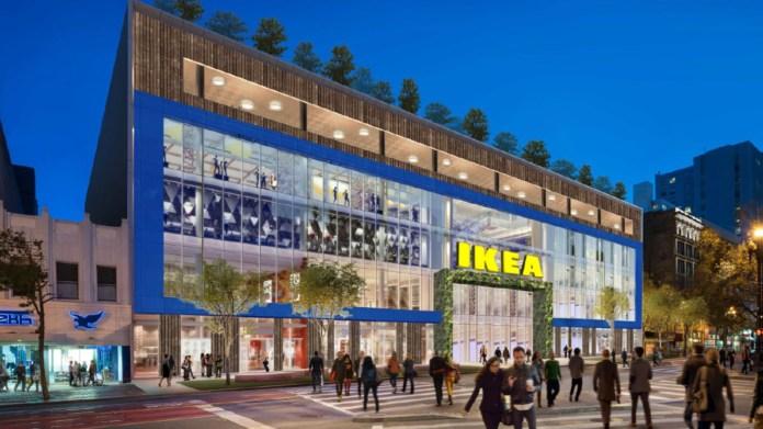 6x6 Ikea Ingka San Francisco 945 Market Newmark Knight Frank Alexandria Real Estate Eqities TMG Partners