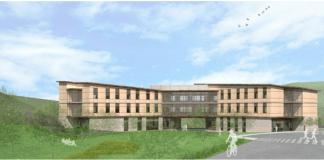 Skanska, San Mateo County, Redwood City, Cordilleras Mental Health Center, Canon Design