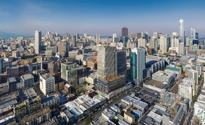 415 Natoma Brookfield Properties San Francisco SoMa Swinerton Builders House & Robertson Architects IwamotoScott Architecture SITELAB