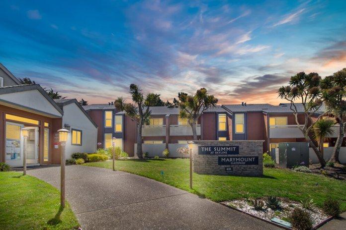 Levin Johnston, Marcus & Millichap, San Francisco, Bay Area, Marymount Gateway & The Summit at Skyline, Pacifica, San Mateo, Santa Clara, Alameda