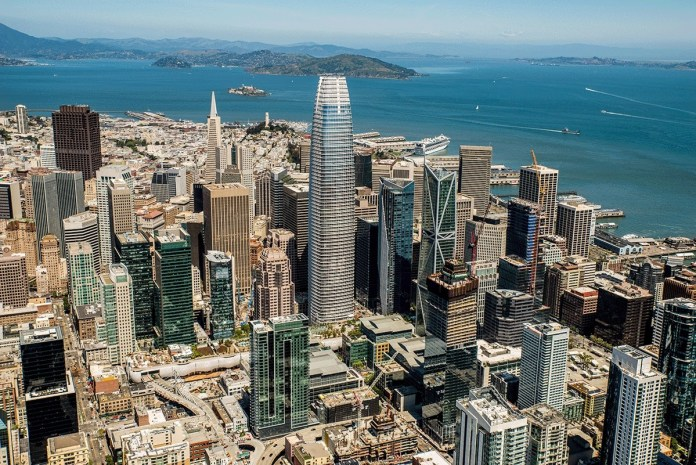 San Francisco, Transbay Tower, Parcel F, Hines, Salesforce, Transbay Joint Powers Authority, HKS Architects