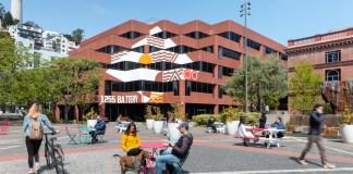 Levi's Plaza San Francisco Jamestown net-zero
