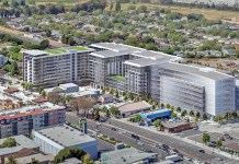 Millbrae, BART, CalTrain, Serra Station, California High Speed Rail Authority