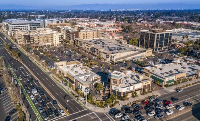 The Village at San Antonio Center, Mountain View, Merlone Geier, Brookfield Properties, Carmel Partners, WeWork, Facebook,