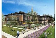 Redwood City, Veterans Memorial Building/Senior Center, Red Morton Park, Thompson Builders Corporation