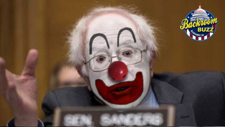 Bernie Sanders is a Clown