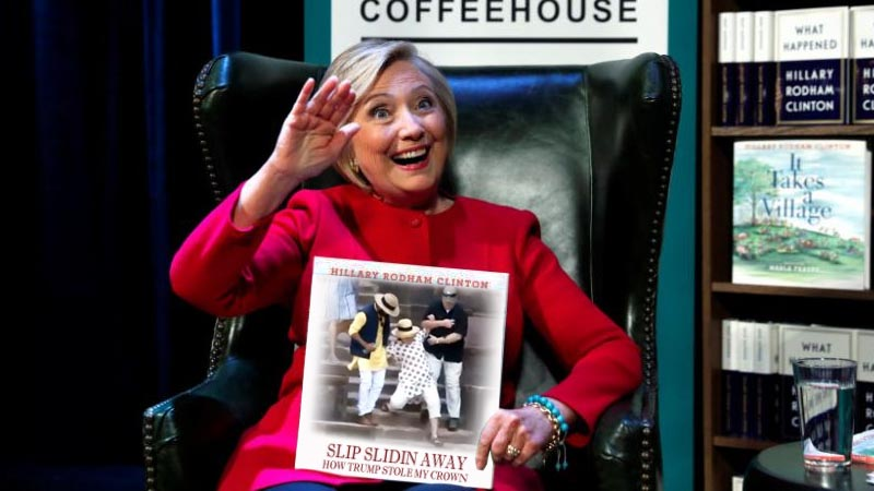 Hillary Clinton Book signing 1