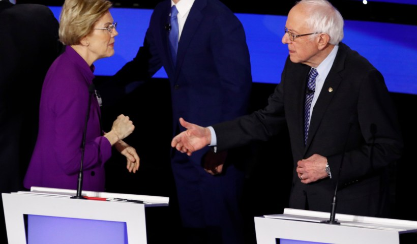 Elizabeth Warren Refused To Shake Bernie Sanders Hand