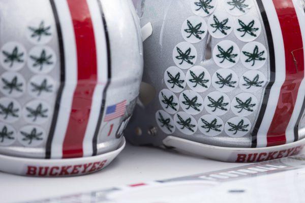 Ohio State Buckeyes helmets Credit: Greg Bartram-USA TODAY Sports
