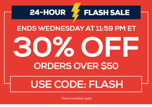 TideFansSto:re.com : Get 30% off on $50+ orders! Ends Wednesday 11:59pm EDT!