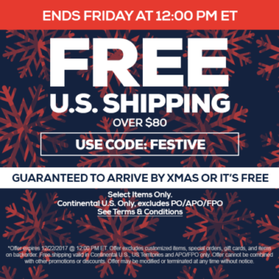 TideFansStore.com - Free shipping - Get it by Christmas or it's free! (Ends at NOON on Friday (EST))