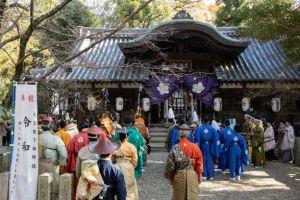 池神社での様子(写真 森山雅智)