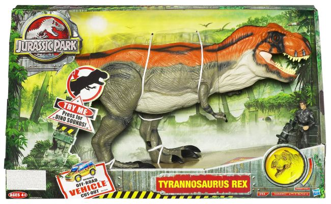 Hasbro Announces Toys R Us Jurassic Park Toys The