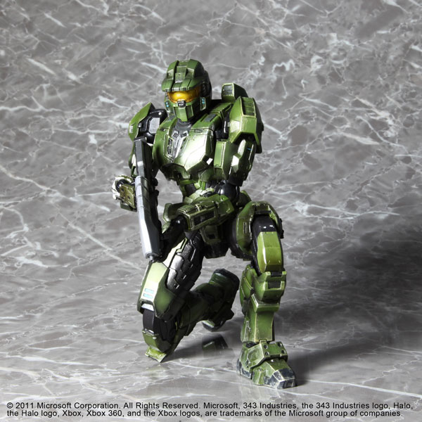 Halo Comabt Evolved Master Chief Play Arts Kai  The