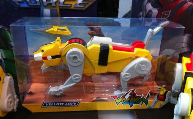 Toy Fair 2012 Voltron The Toyark News