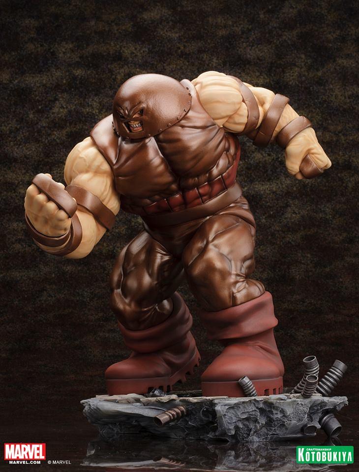 X Men Animated Series Wallpaper Kotobukiya Juggernaut Fine Art Statue The Toyark News