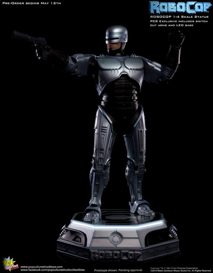 PCS Robocop Statue PCS Exclusive 017