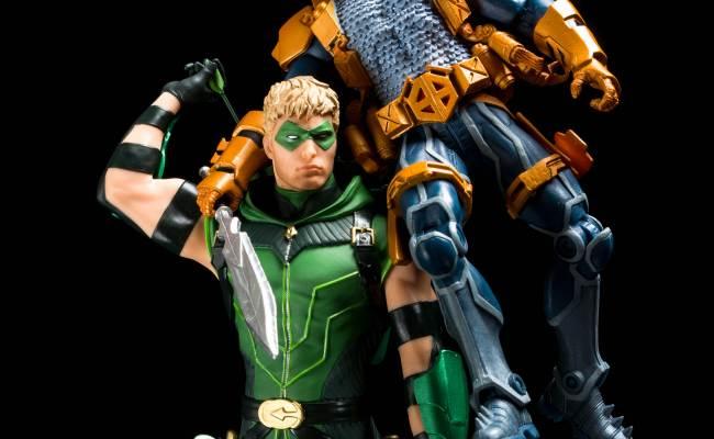 Dc Comics Icons Green Arrow Statue Gallery The Toyark News