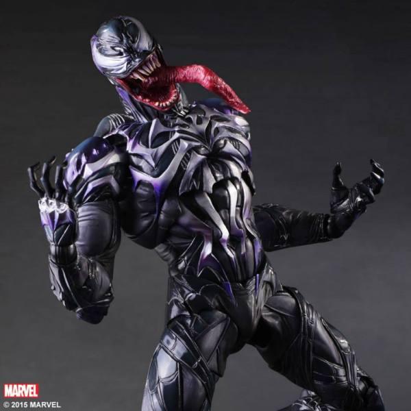 Marvel Play Arts Variant Venom - Toyark