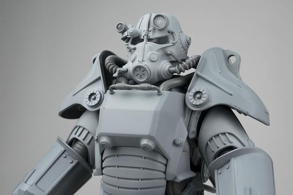 ThreeZero Fallout 4 Power Armor Preview 2