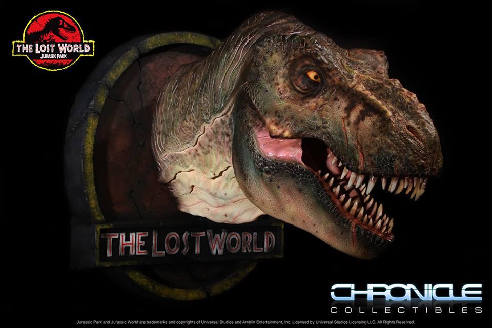 Lost World Jurassic Park T Rex Bust 001