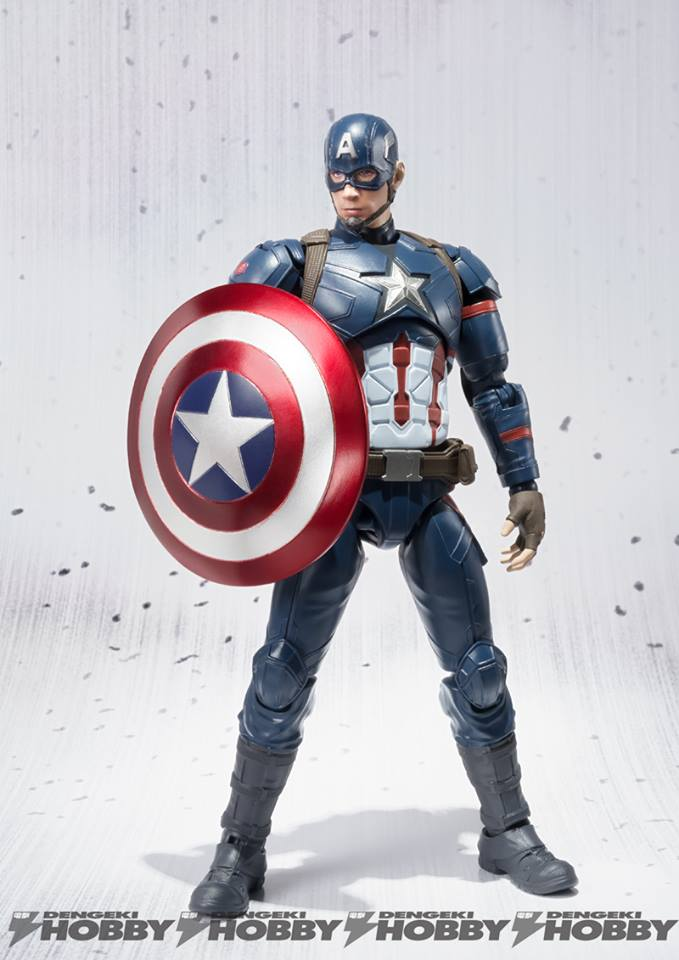 Captain America Civil War SH Figuarts Captain America