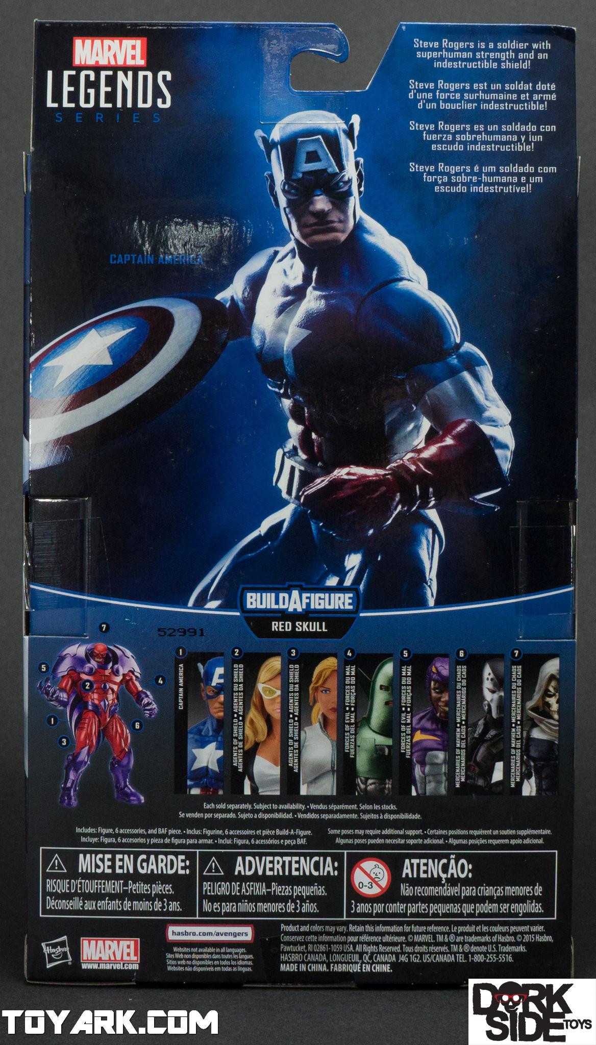 Marvel Legends Civil War Captain America Photo Shoot  The