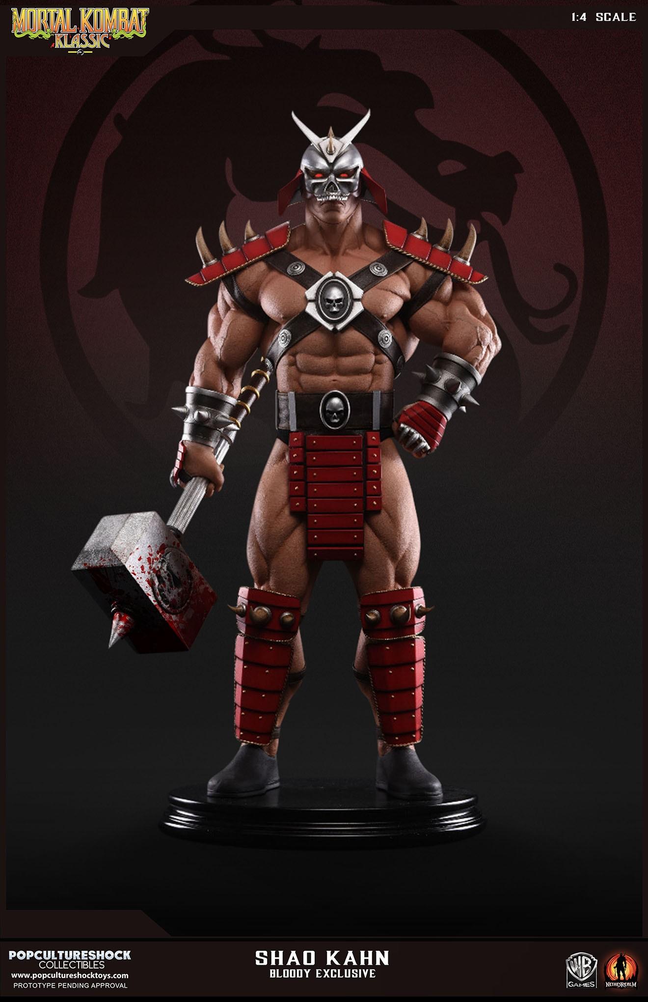 PCS Mortal Kombat Shao Kahn Bloody 001