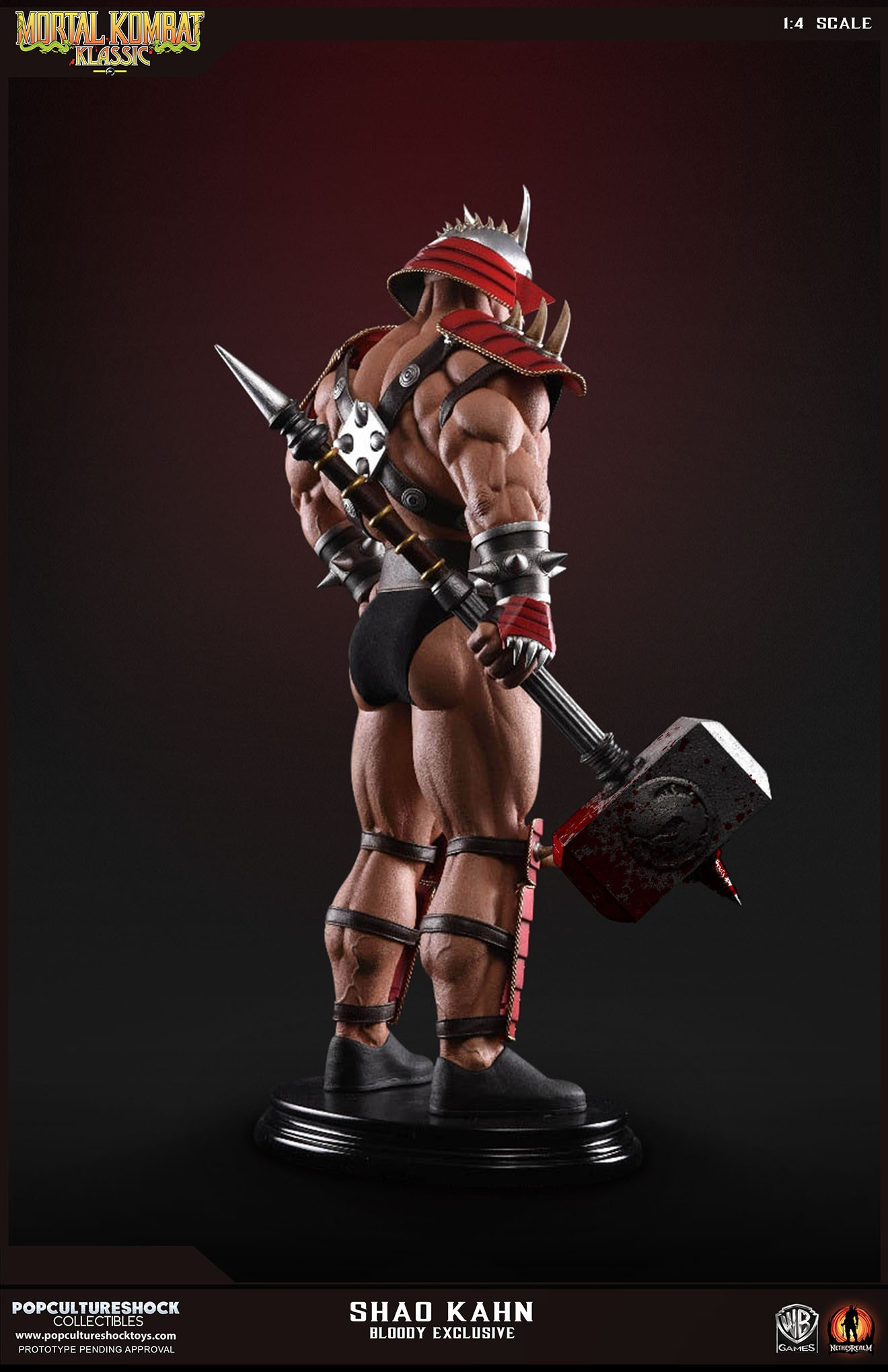 PCS Mortal Kombat Shao Kahn Bloody 008