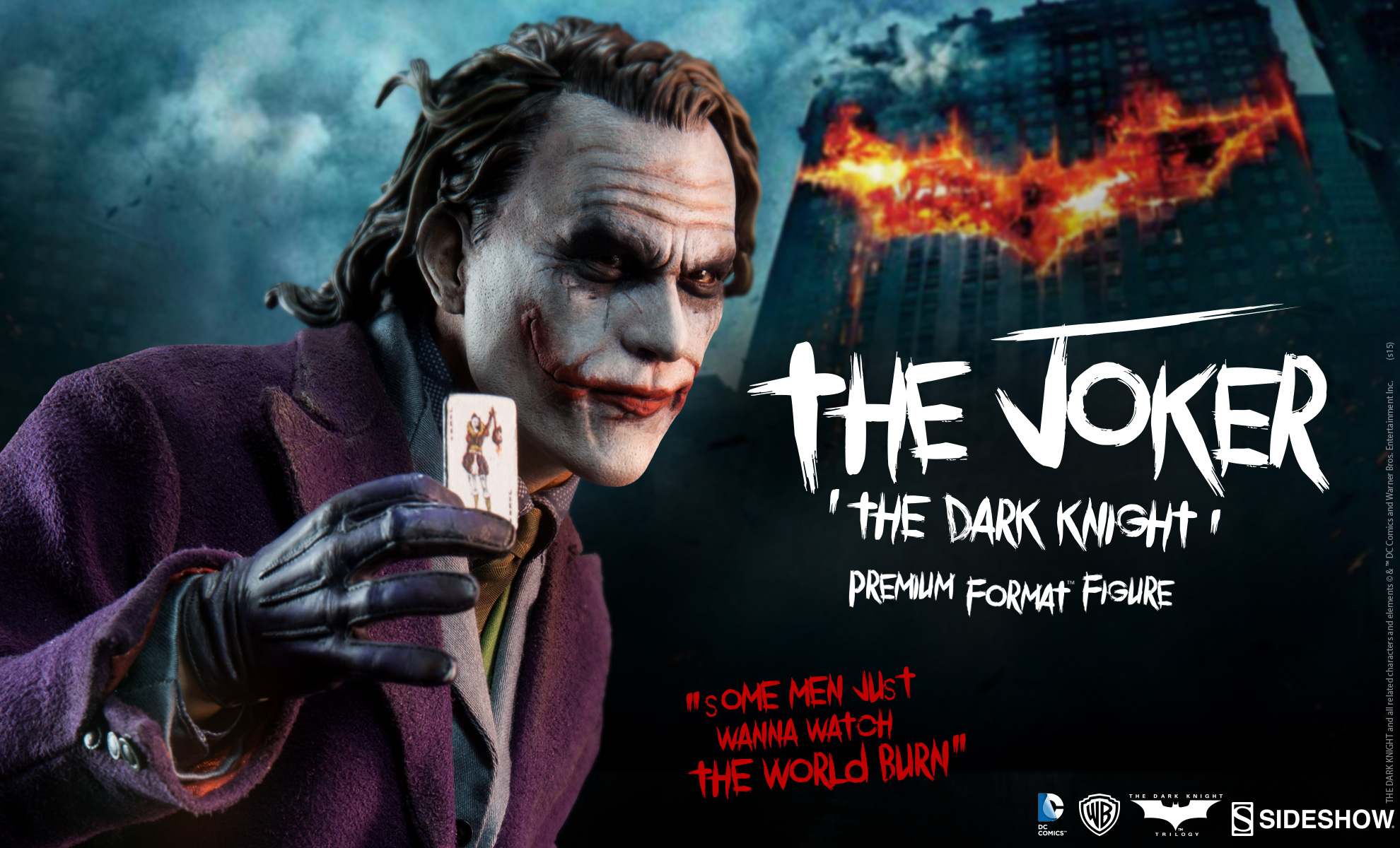 Preview of Sideshows The Dark Knight Joker Statue  The