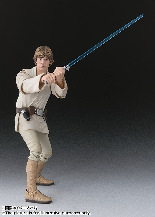 SH Figuarts Star Wars Update  Luke Skywalker and Stormtrooper Heavy Gunner  The Toyark  News