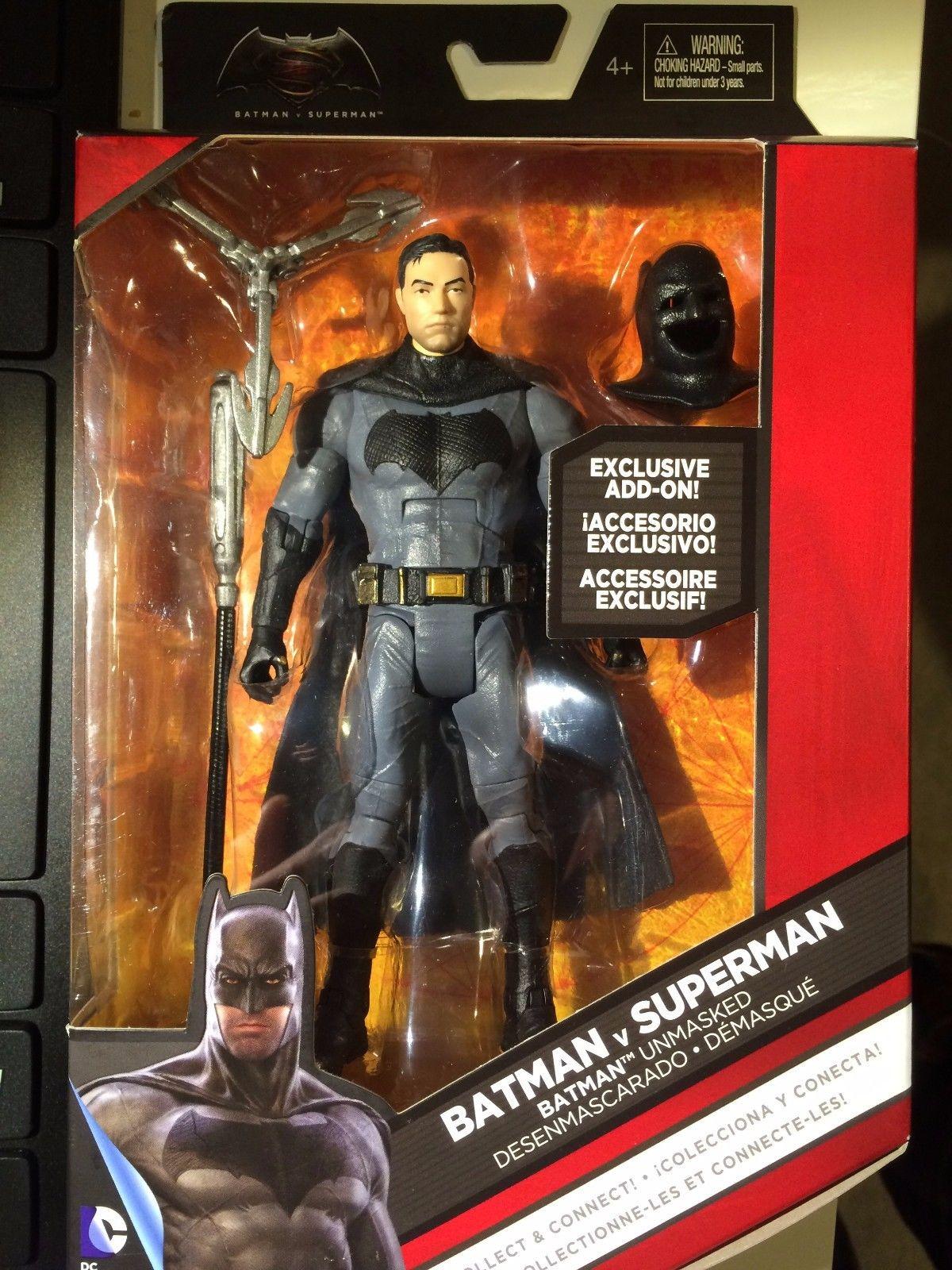 Batman V Superman 6 Scale Unmasked Batman And Heat Vision