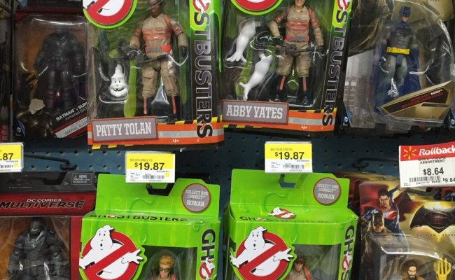 Ghostbusters 2016 Figure By Mattel Now Hitting Stores